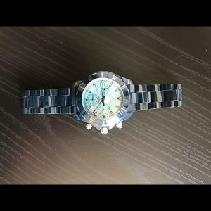 Blue sapphire toy watch ceramic